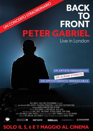 Back To Front - Peter Gabriel Live in London