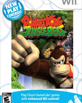 Donkey Kong Jungle Beat New Play Control