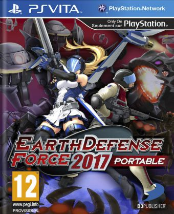 Earth Defense Forces 2017 Portable