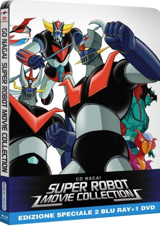 Go Nagai Super Robot Movie Collection