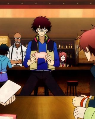 Hamatora: Look at Smoking World