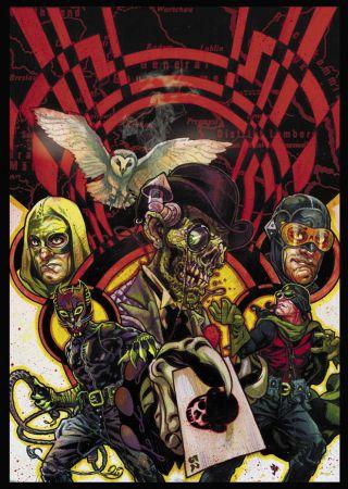 JSA - Liberty Files: The Whistling Skull