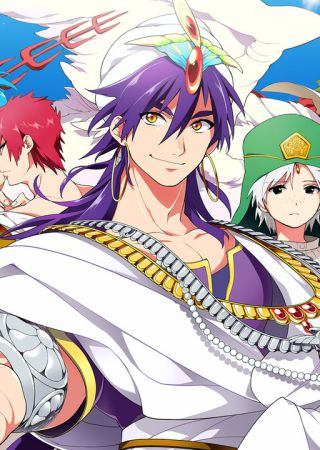 Magi: The Adventures of Sinbad