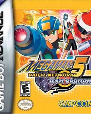 Megaman Battle Network 5 Team ProtoMan
