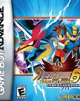 Megaman Battle Network 6 Cybeast Falzar