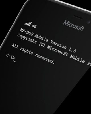 Microsoft MS-DOS Mobile