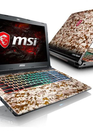 MSI GE62 7RE Camo Squad