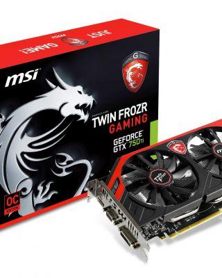 MSi GeForce GTX 750 Ti Gaming
