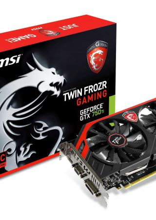 MSi GeForce GTX 750 Ti Gaming