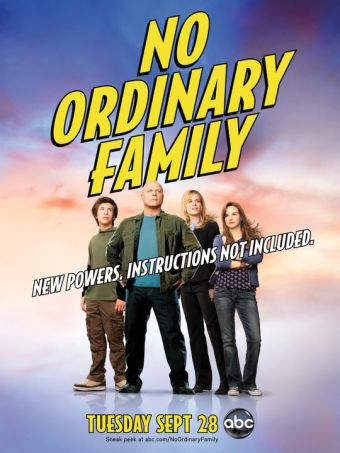 No Ordinary Family - Stagione 1
