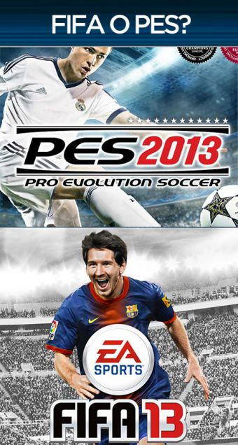 PES 2013 Vs. FIFA 13