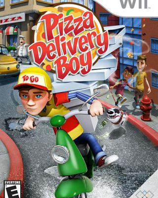 Pizza Delivery Boy