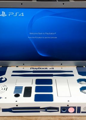 R2-D2 PlayBook 4: la PS4 di una galassia lontana, lontana.