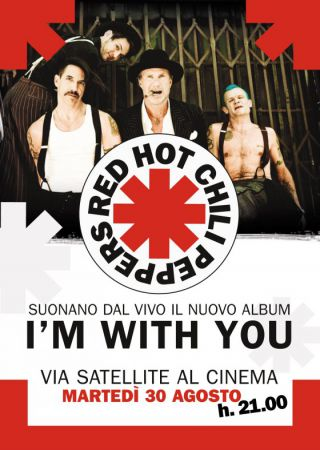 Red Hot Chili Peppers Live: I'm With You