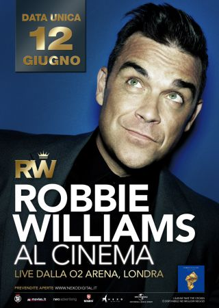 Robbie Williams al cinema