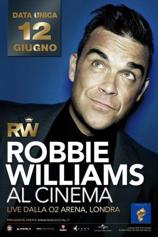 Robbie Williams al cinema