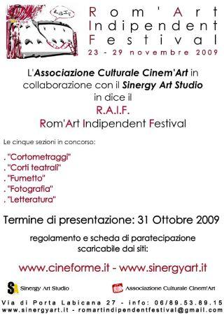 Rom'Art Indipendent Festival
