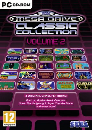 Sega Mega Drive Classic Collection - Volume 2