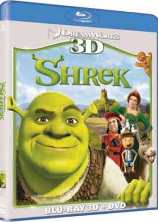 Shrek - La collezione dei Blu-Ray 3D