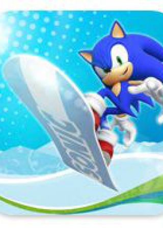 Sonic at the Olpympic Winter Games