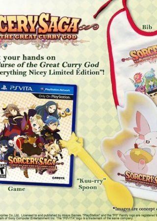 Sorcery Saga: The Curse of The Great Curry God