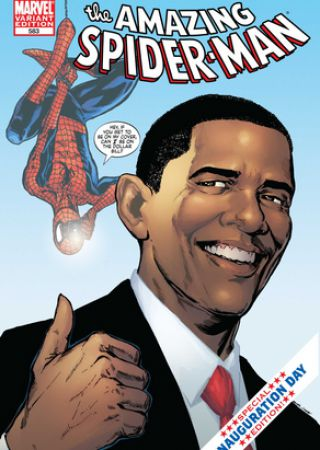Spiderman incontra Obama