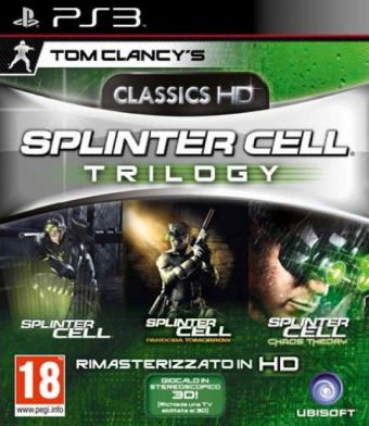 Splinter Cell Trilogy HD