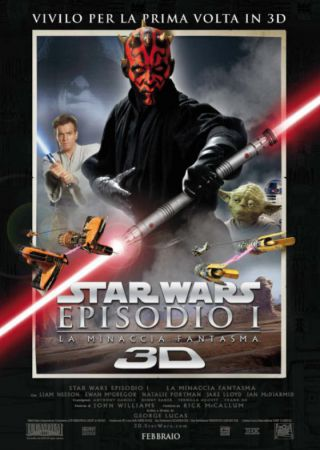 Star Wars - Episodio I: La Minaccia Fantasma 3D