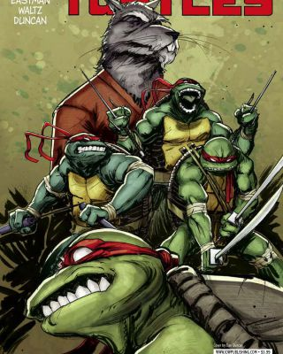 Teenage Mutant Ninja Turtles IDW