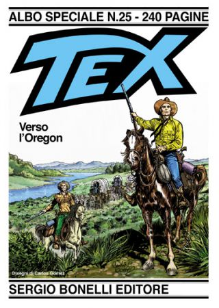 Tex Verso l'Oregon