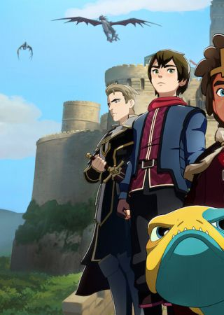 The Dragon Prince - serie animata Netflix