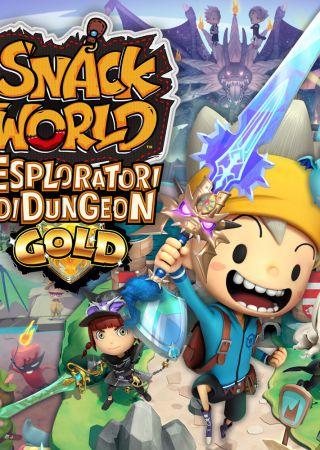 The Snack World Esploratori di Dungeon Gold