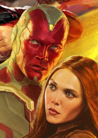 The Vision and Scarlet Witch