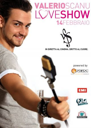 Valerio Scanu Love Show