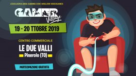 Gamer Village farà tappa a Pinerolo (TO) nel weekend del 19 e 20 ottobre