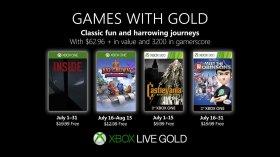 Games with Gold di Luglio: annunciati i nuovi giochi gratis per Xbox One e Xbox 360!