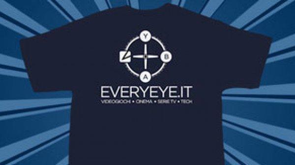 In regalo la t-shirt Everyeye.it