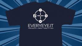la maglietta di Everyeye