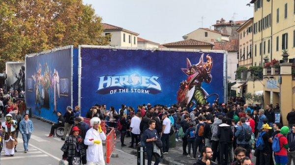 Lucca Comics & Games 2017: nuovi scatti dal padiglione di Activision Blizzard
