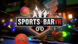Sports Bar VR: Sfida gli amici a colpi di biliardo, freccette, air hocket e skeet ball!