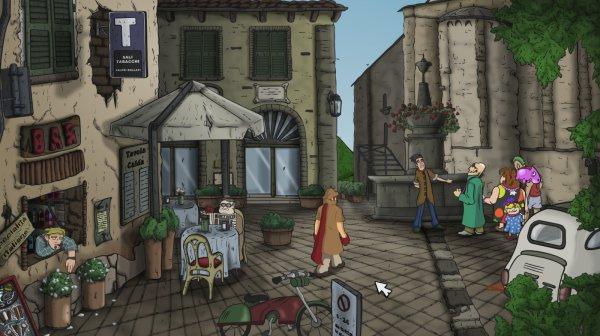 The Hand of Glory, avventura grafica ambientata in Italia