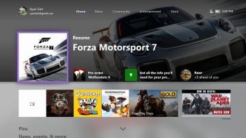Video xbox one: microsoft ha inziato a distribuire l'aggiornamento autunnale