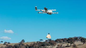 Video alphabet consegna i burritos in australia tramite drone