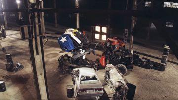 Video si è tenuto la scorsa notte il primo duello tra robot giganti