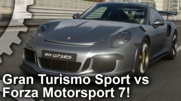 Video digital foundry mette a confronto gran turismo sport e forza motorsport 7