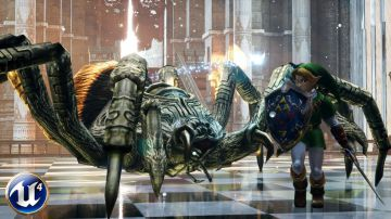 Video la demo e3 2011 di zelda wii u è stata ricreata con l'unreal engine 4