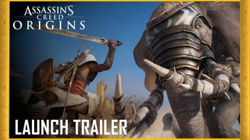 Video assassin's creed origins: pubblicato il trailer di lancio