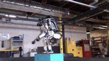Video boston dynamics mostra le capriole del robot atlas