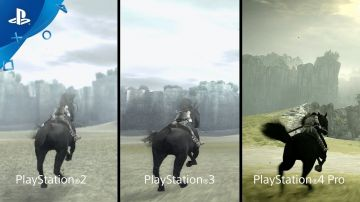 Video shadow of the colossus: sony confronta le versioni ps2, ps3 e ps4 pro
