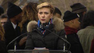 Video scarlett johansson si scaglia contro james franco alla women's march